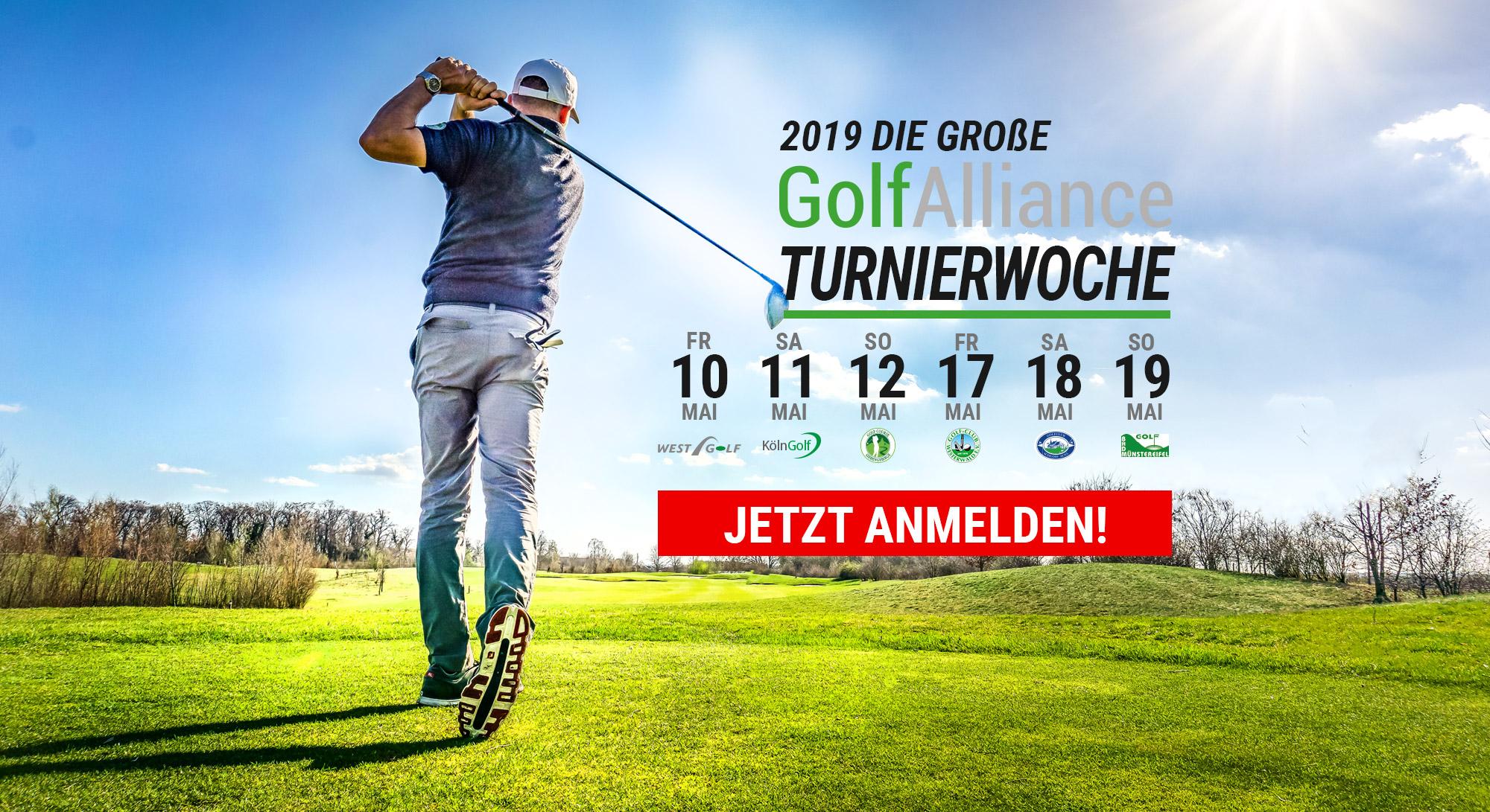 GolfAlliance Turnierwoche 2019