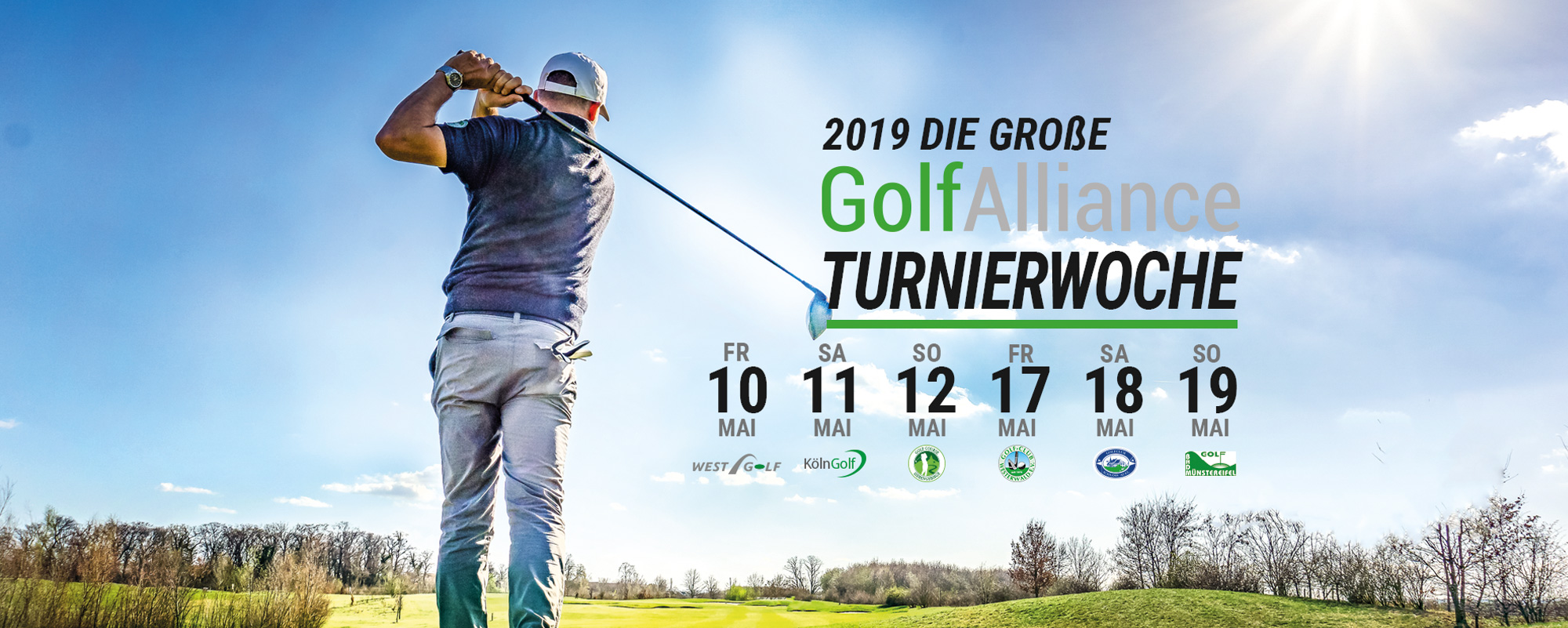 GolfAlliance Turnierwoche 2019